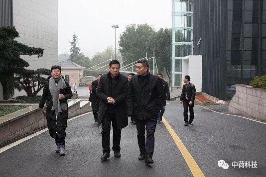 浙江省市场监管局巡视员纪圣麟来中荷电子调研
